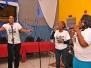 Gospel Artists Jermaine Gordon worships with Homestead POS